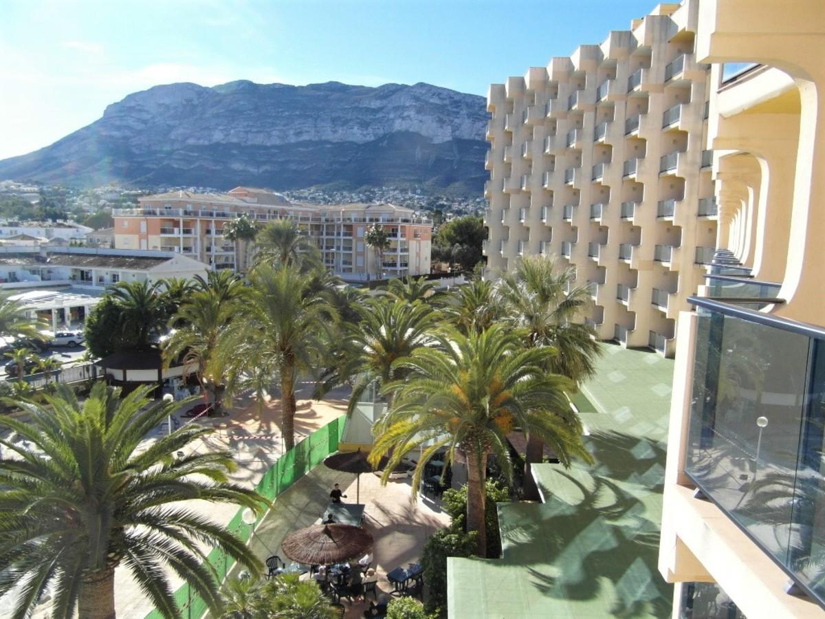Balcony view.