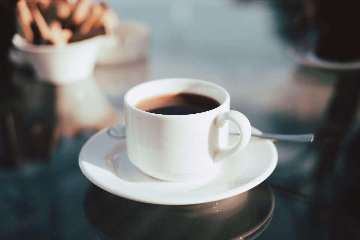 From a cup of joe to a cappuccino, there is no shortage of coffee options on board . . . but watch out for the price tag!