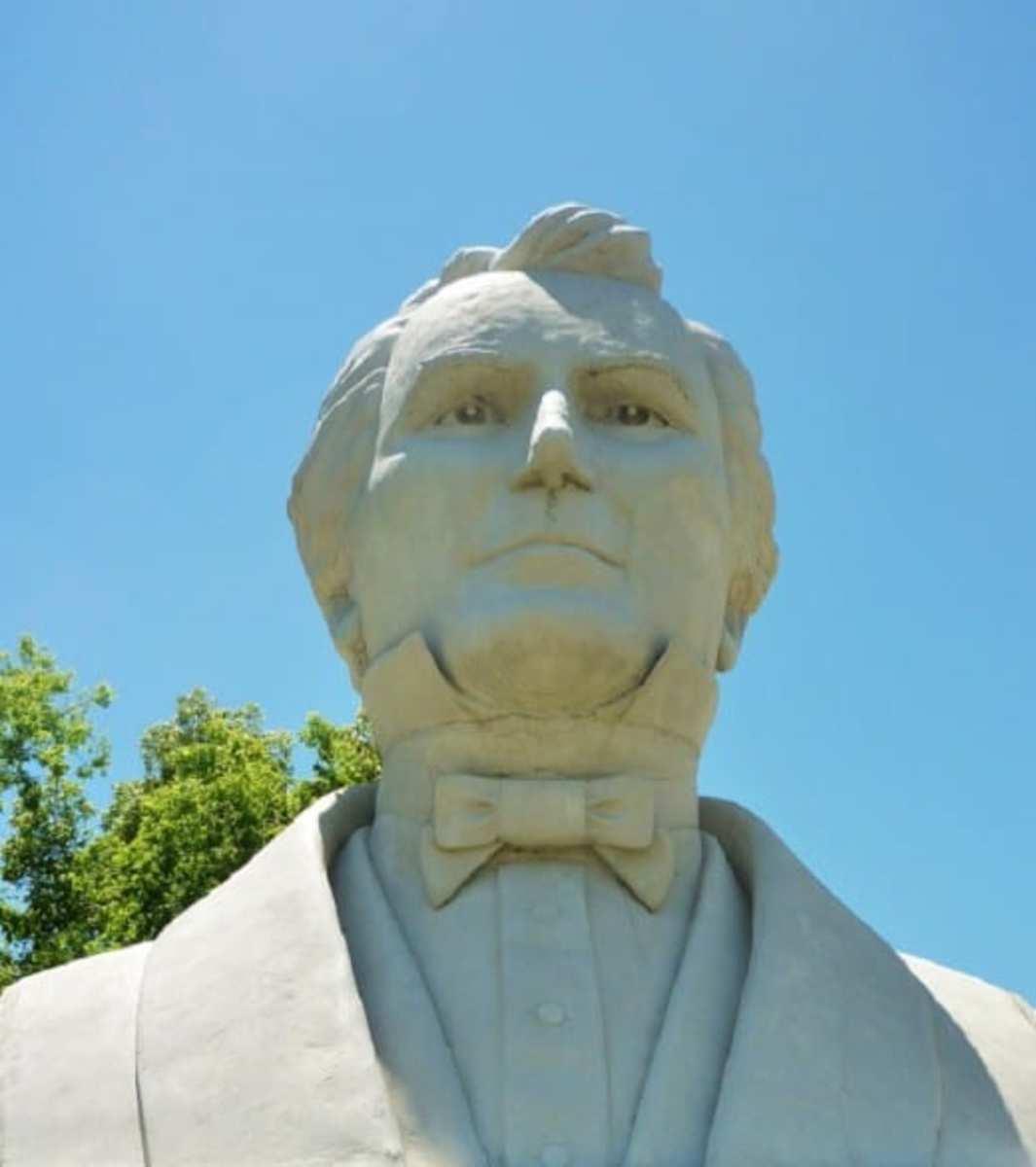 Closeup of Stephen F. Austin