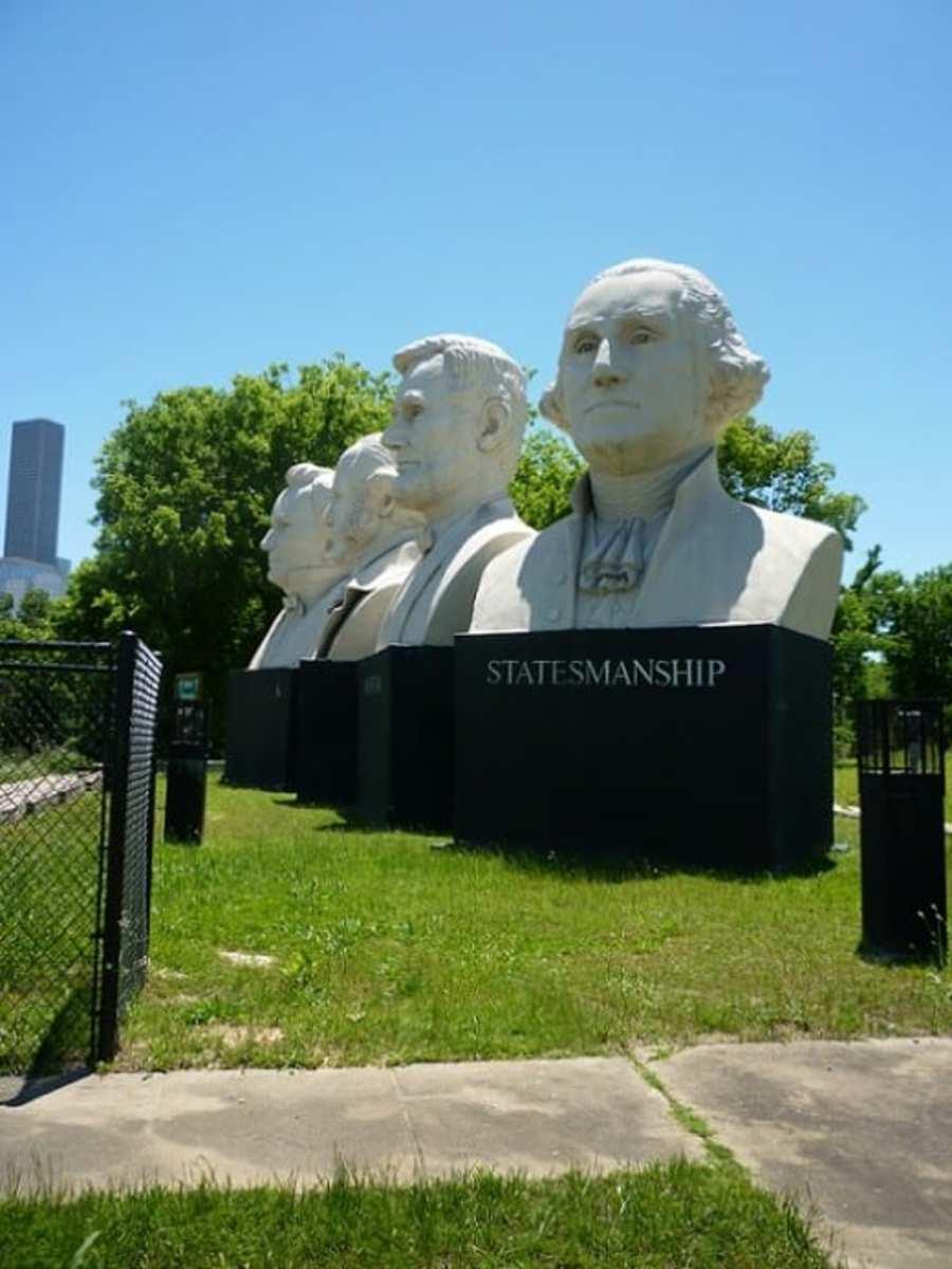 Viewing American Statesmanship Park