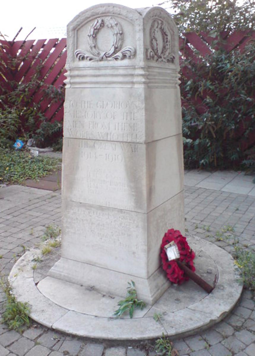 Silvertown Memorial
