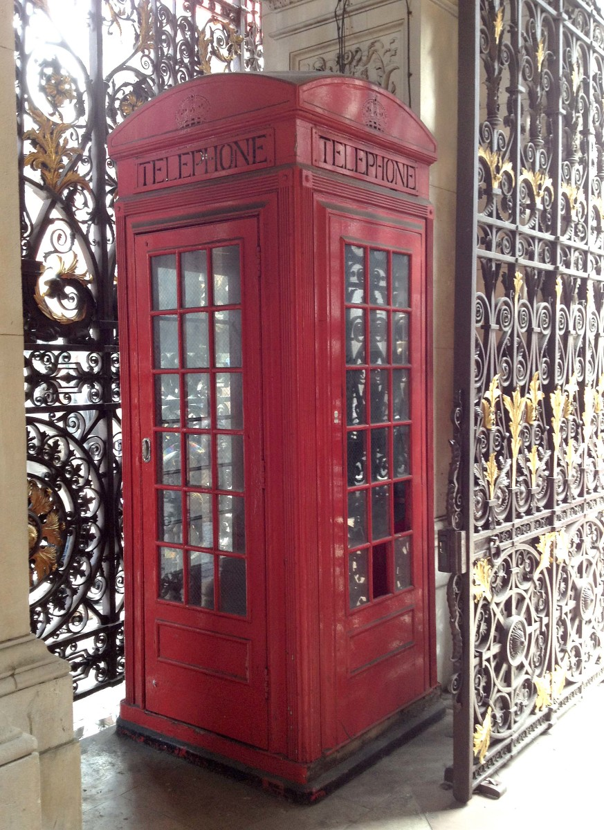 Britain's First Red Telephone Box