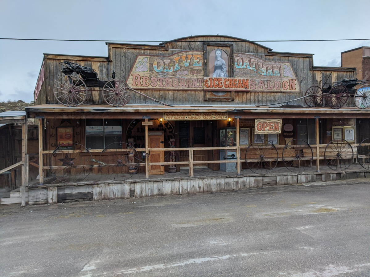 Larger view of Olive Oatman Restaurant & Ice Cream Saloon