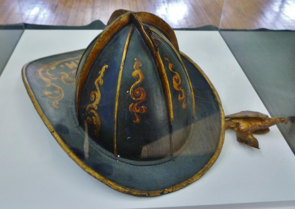 Old fireman's hat