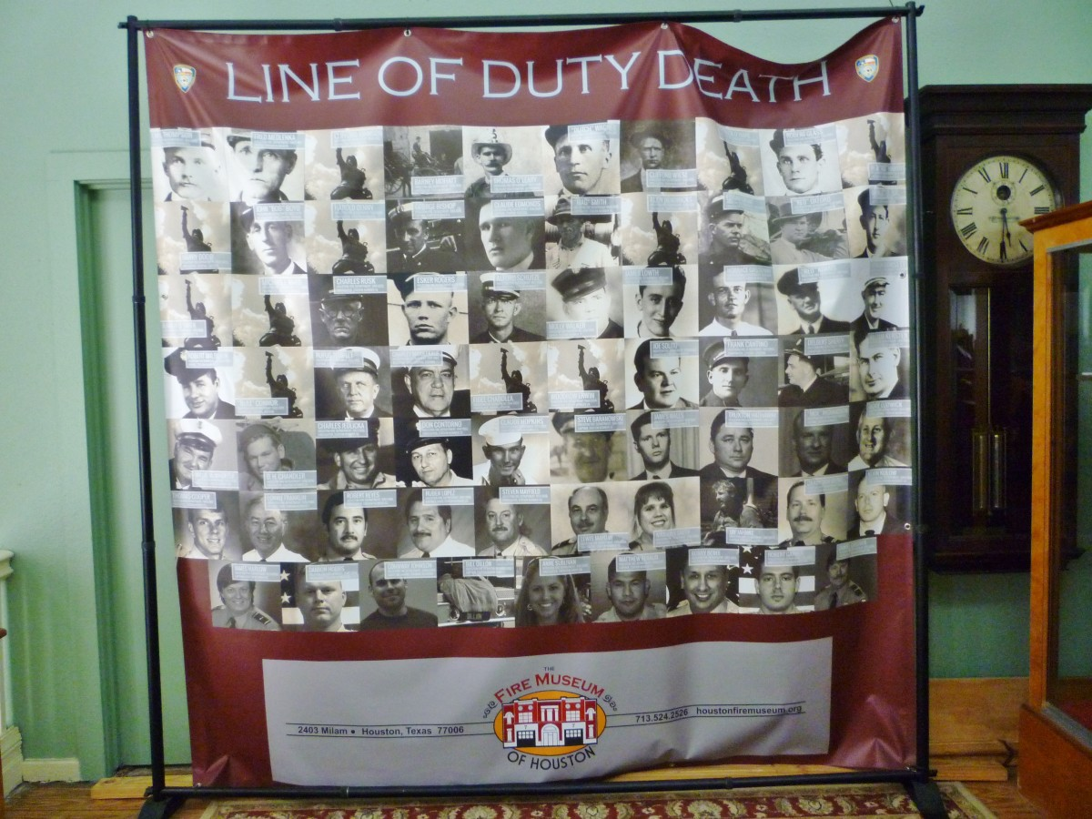 Honoring firefighters who died in the line of duty