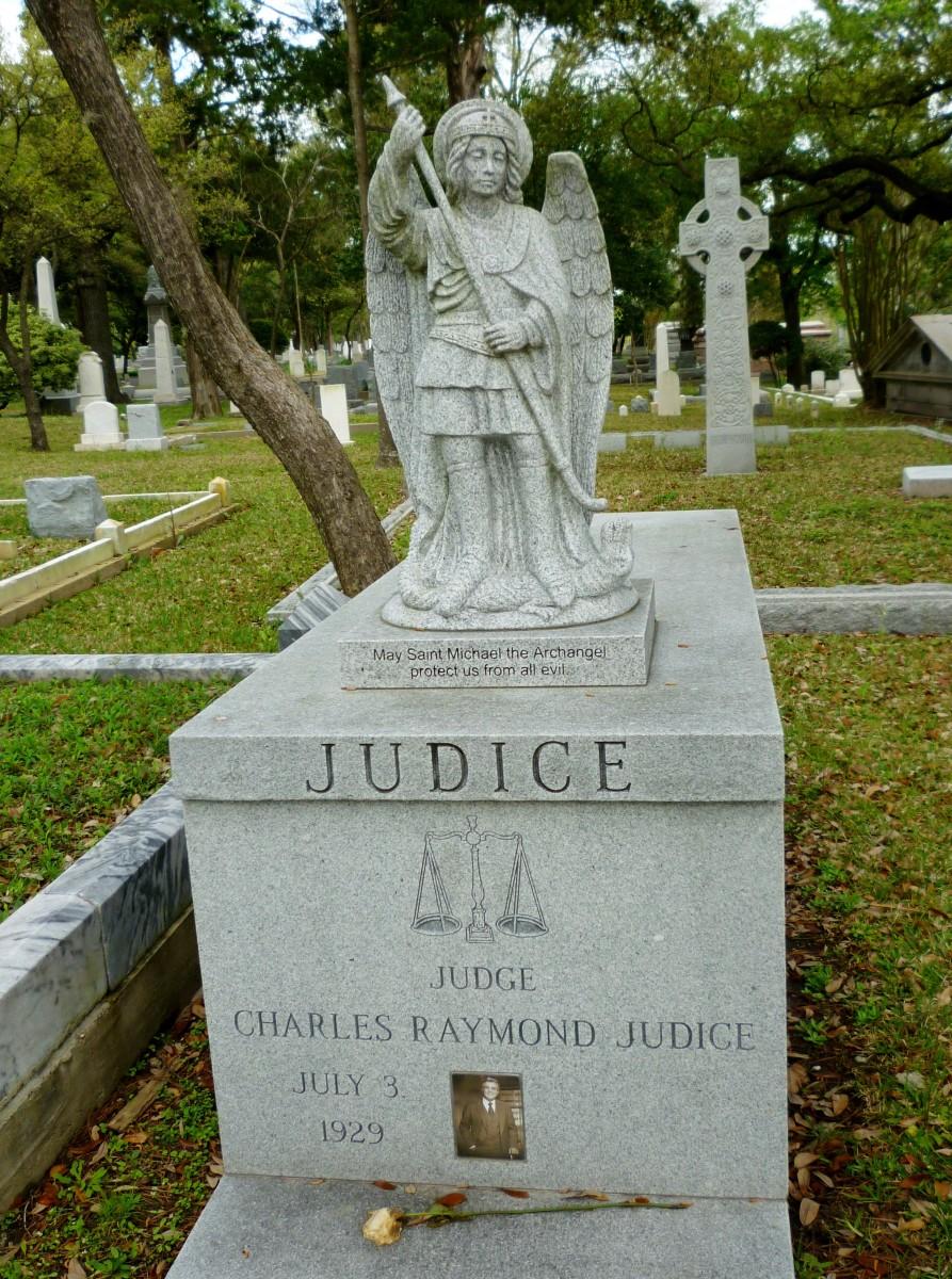 Judge Charles Raymond Judice monument