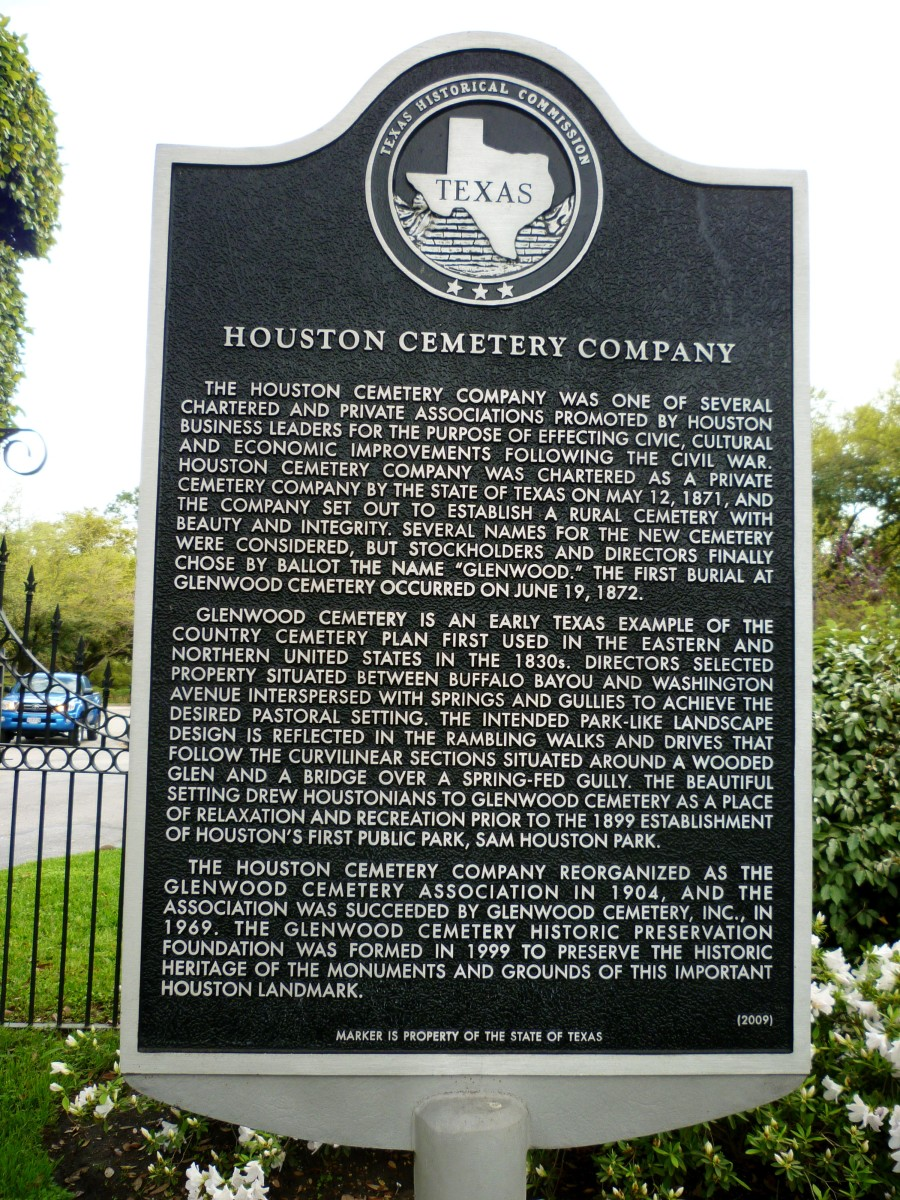 One of many historical markers