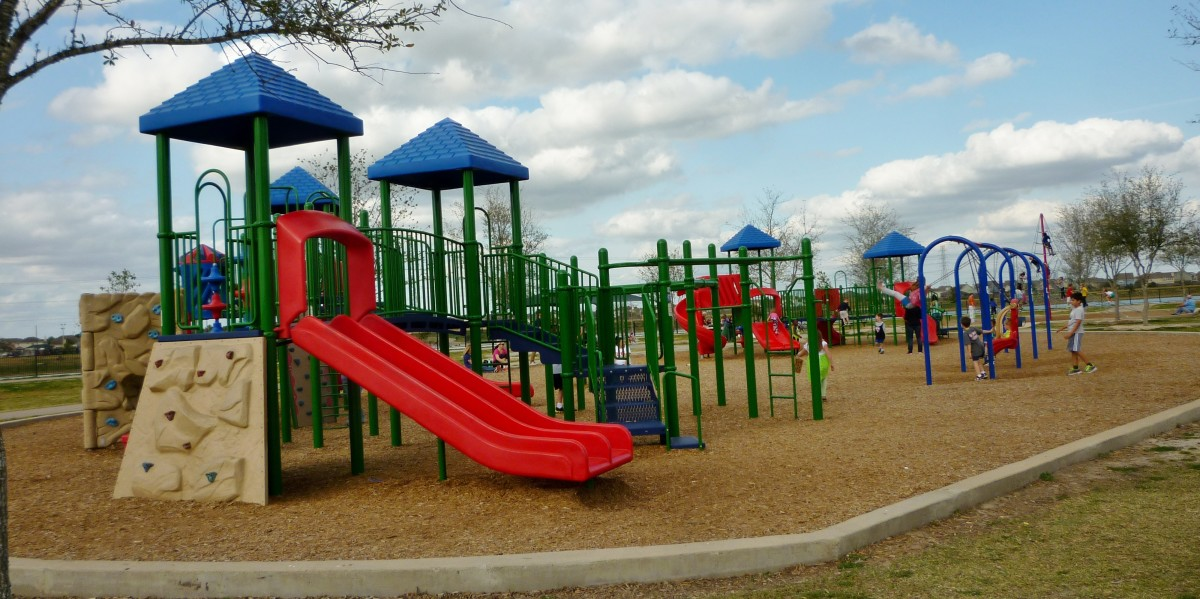 Children's playground in Goforth Park