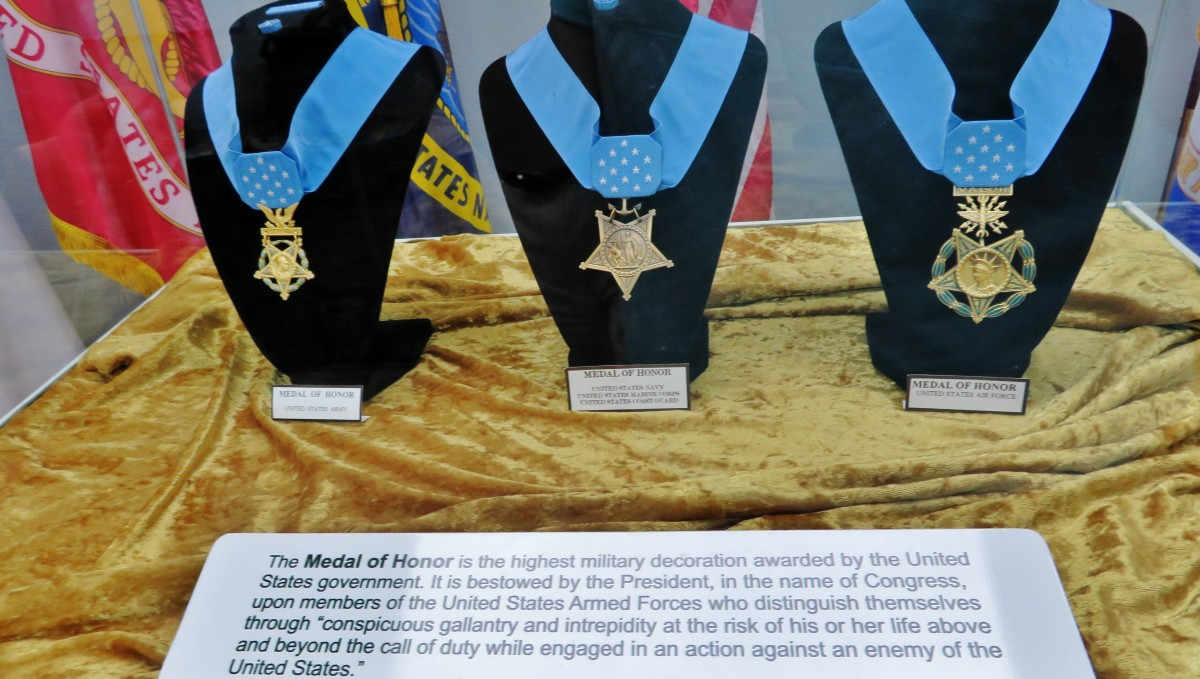 Medals of Honor Display