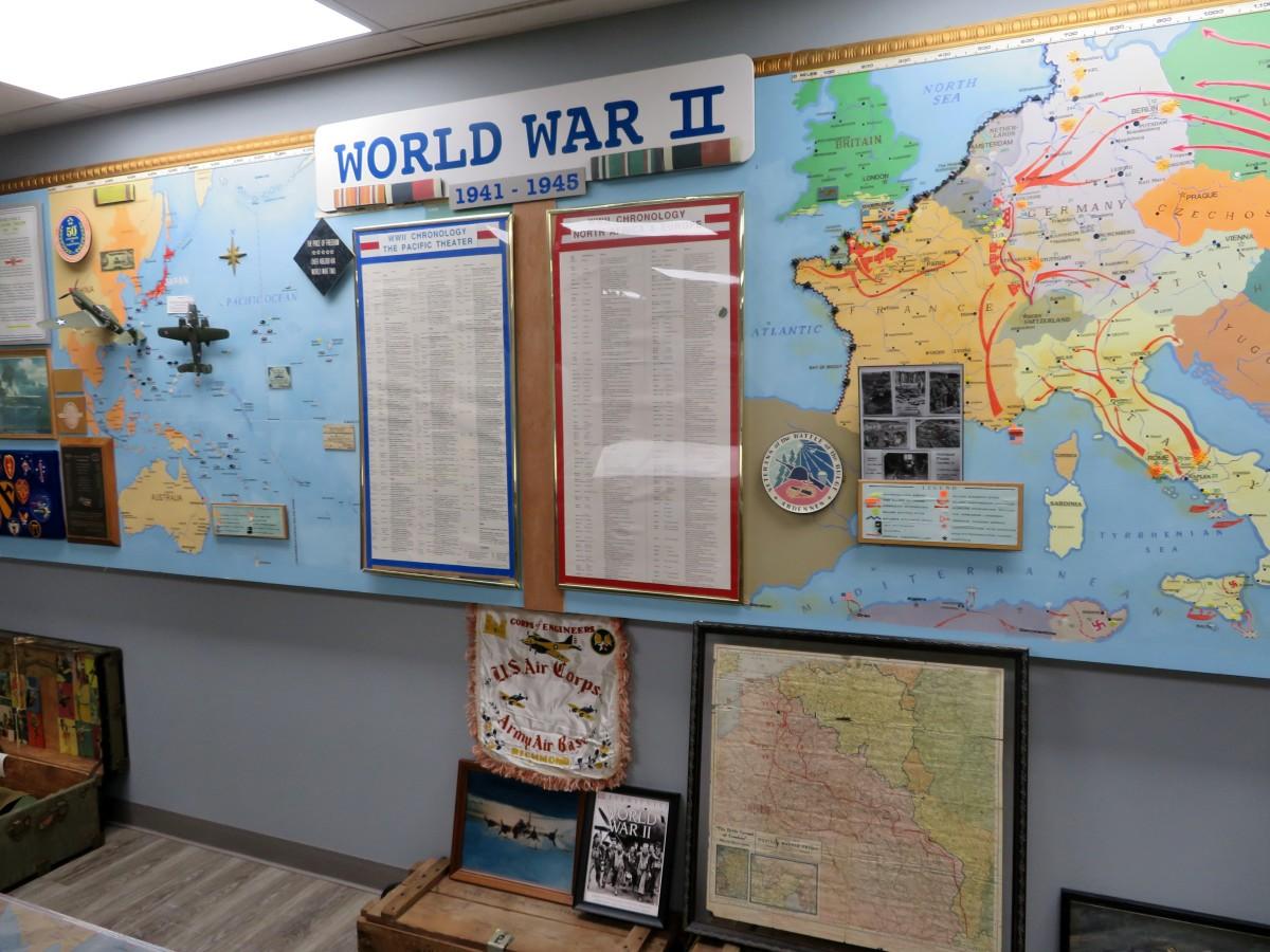 WWII displays