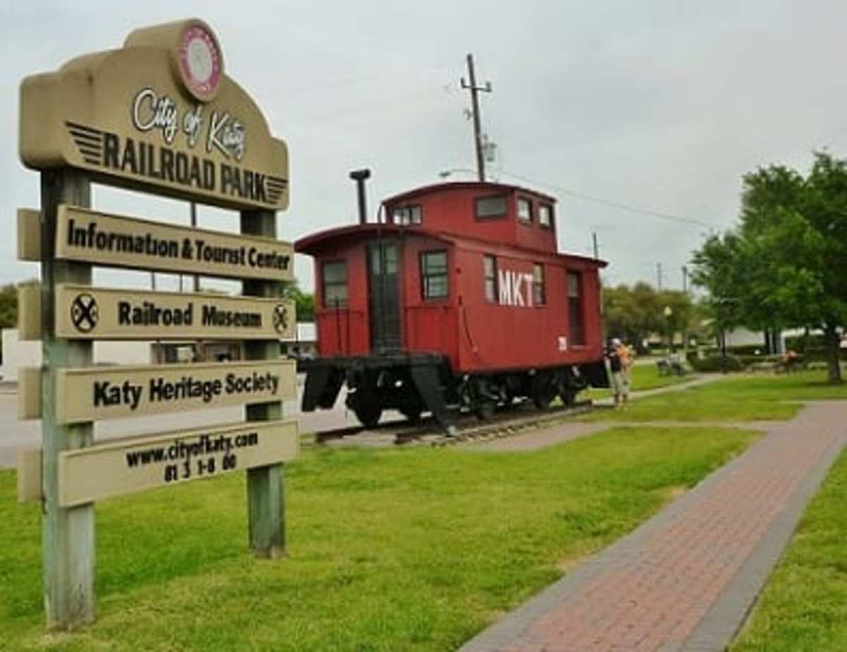Showing more of the Railroad Park in Katy, TX