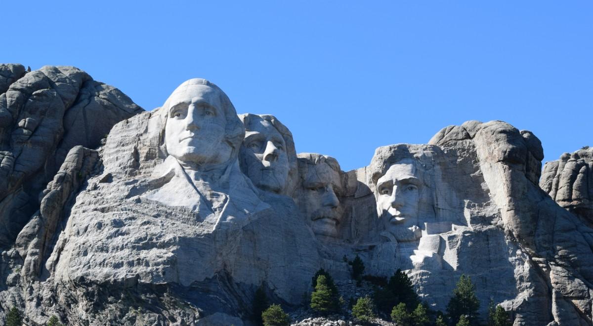 Mount Rushmore in the South Dakota Black Hills
