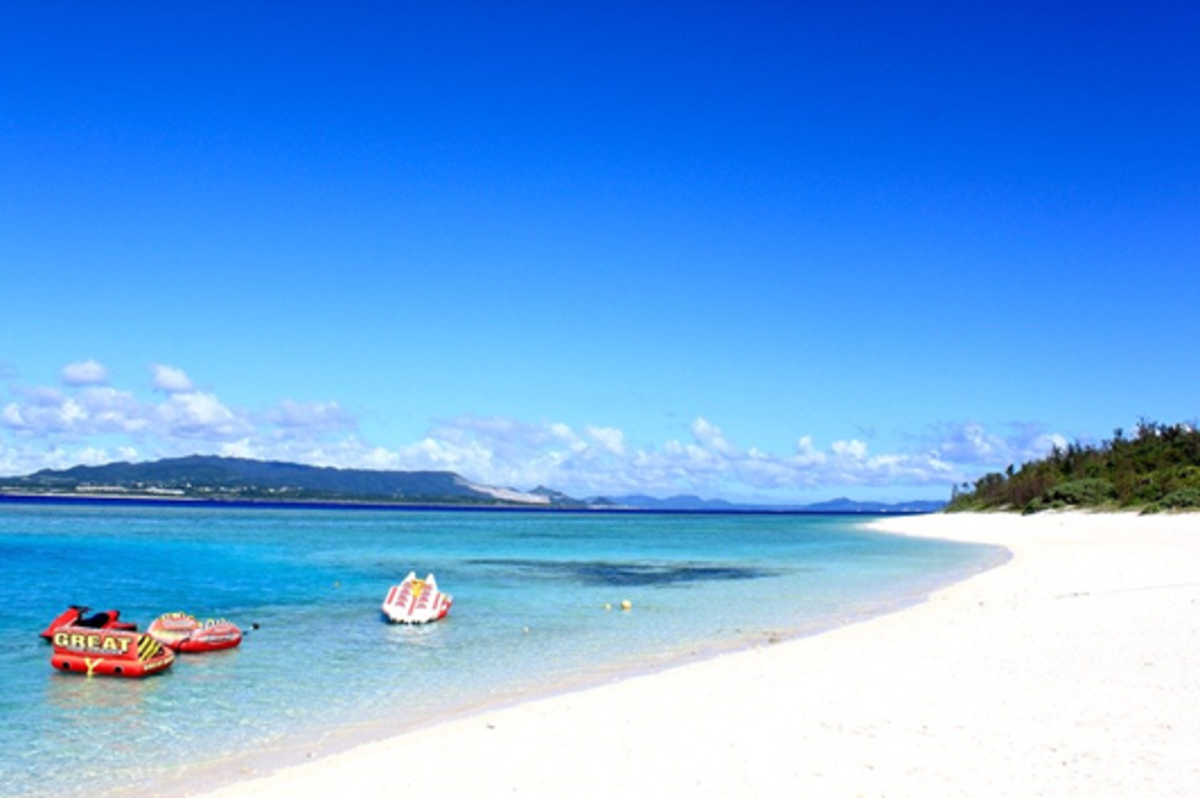 Okinawa is packed with stunning beaches and year-round warm water.
