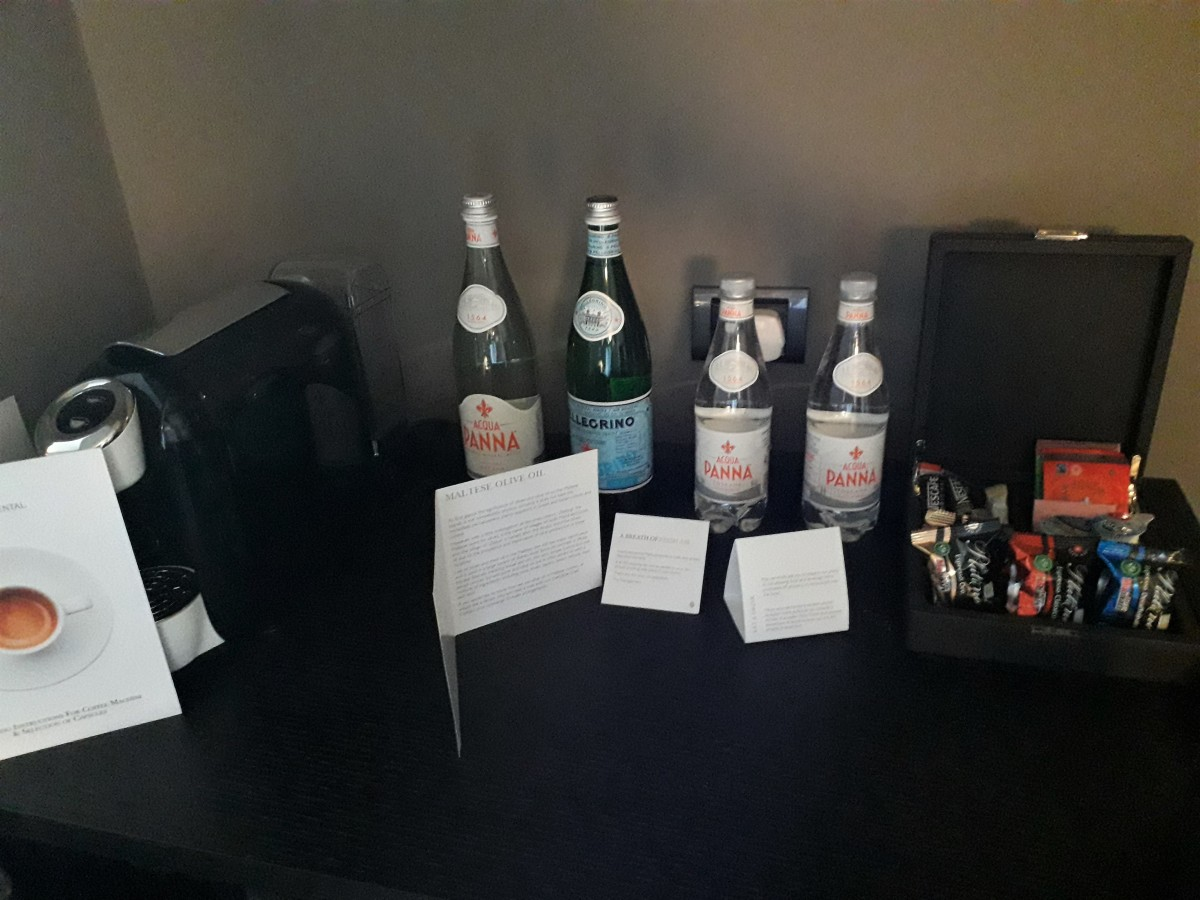 Drinks provision.