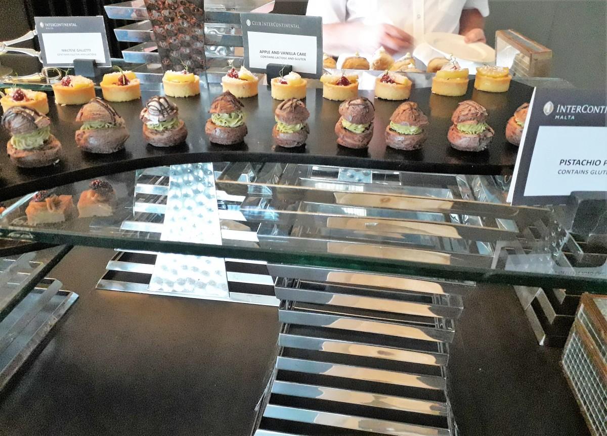 Mini dessert selection.