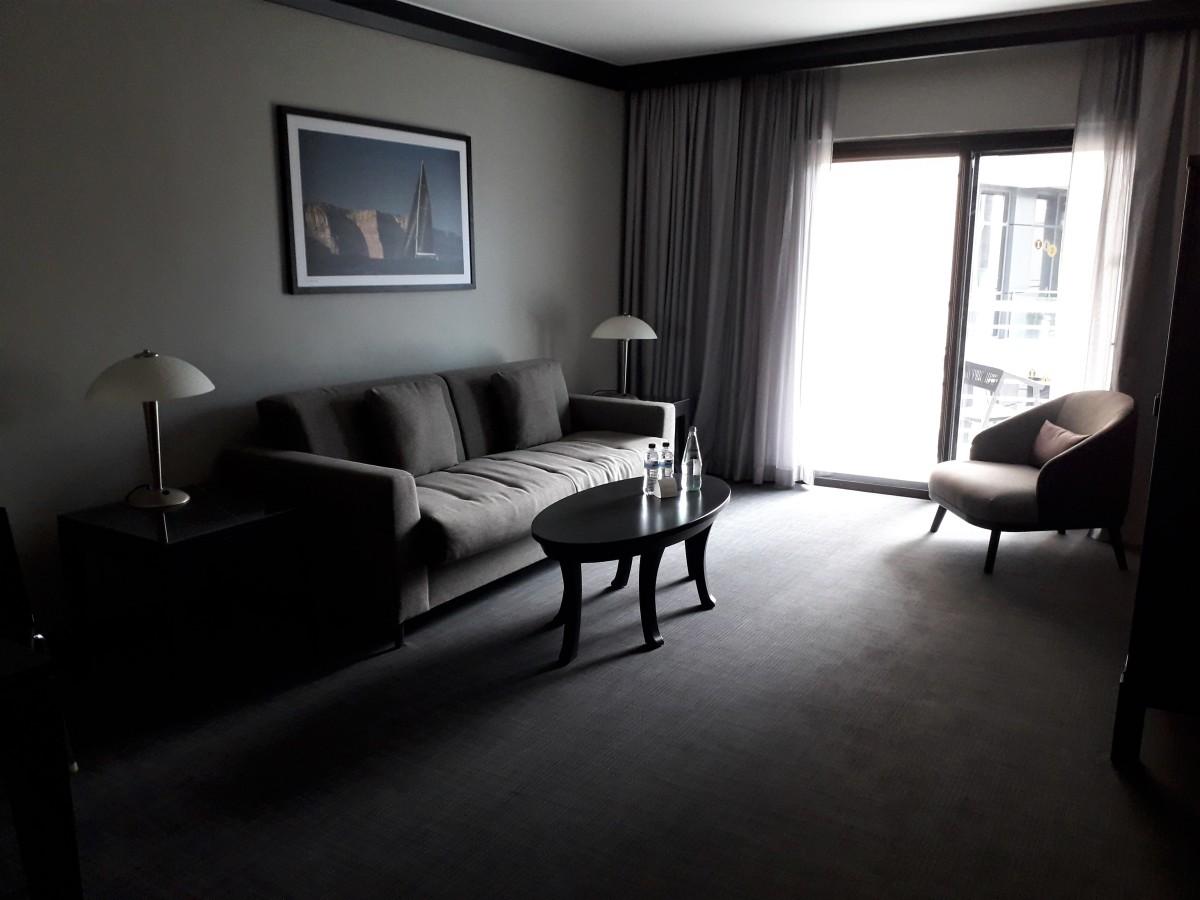 Junior suite lounge.