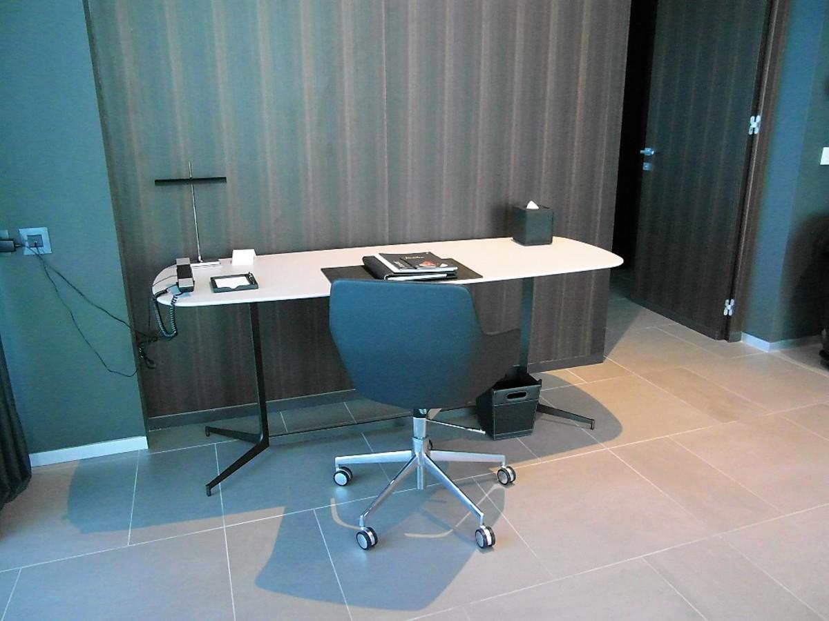 Office area.
