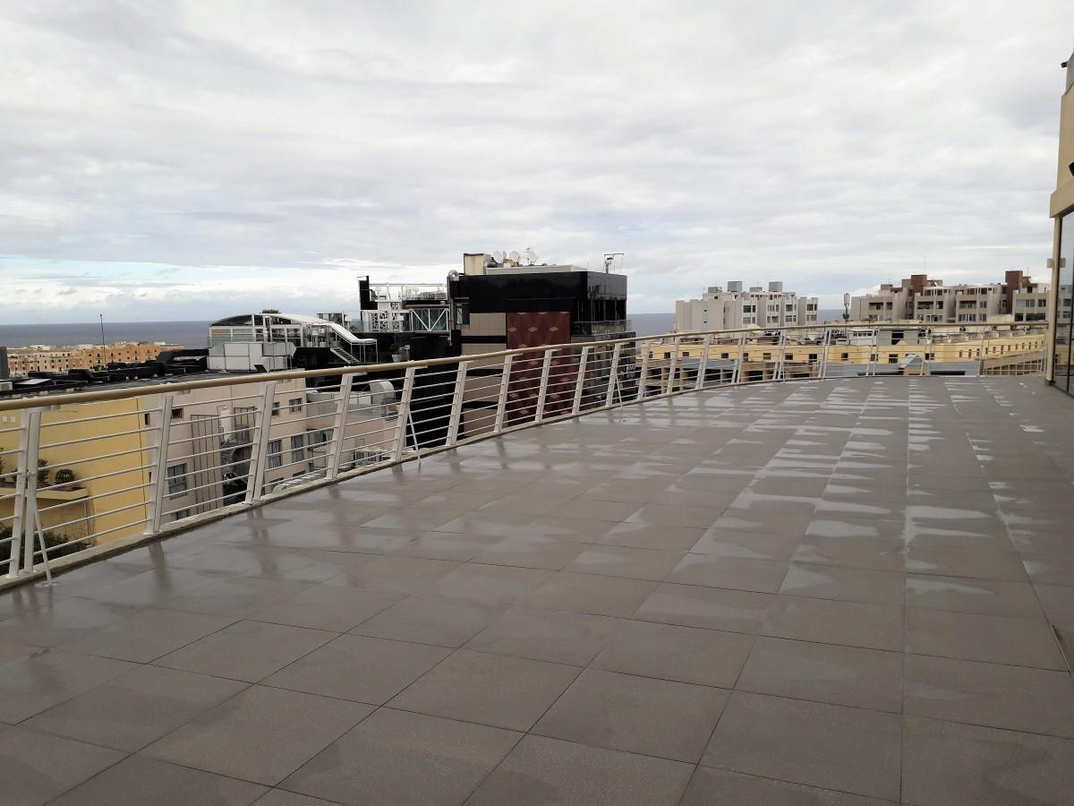Lounge terrace.