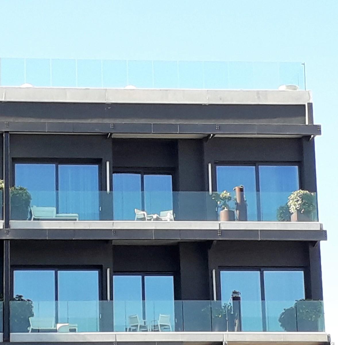 Top floor balcony.