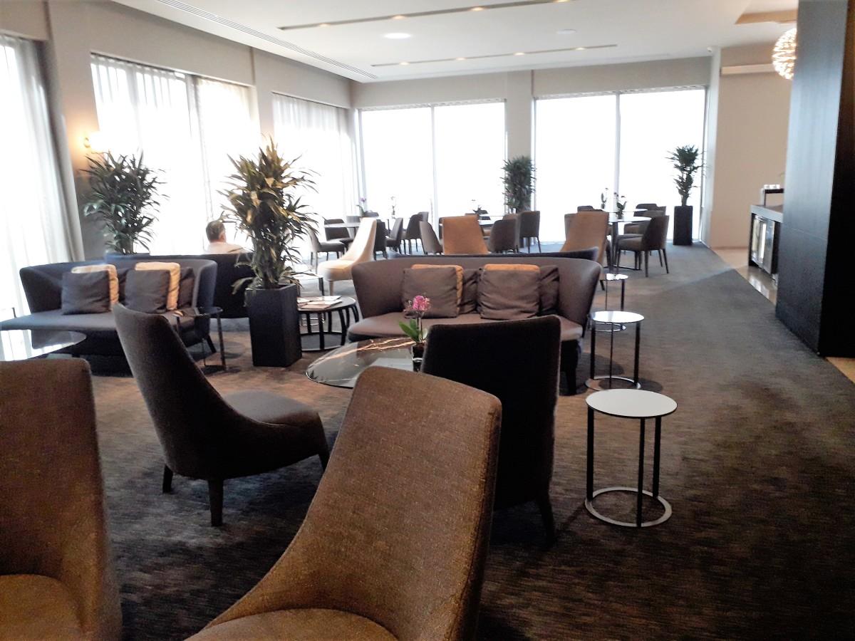 Club lounge.