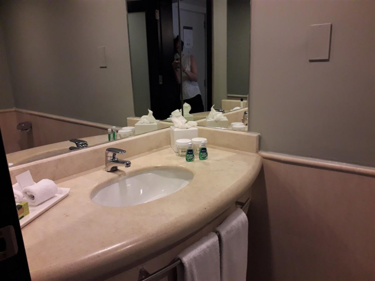 Additional washroom.