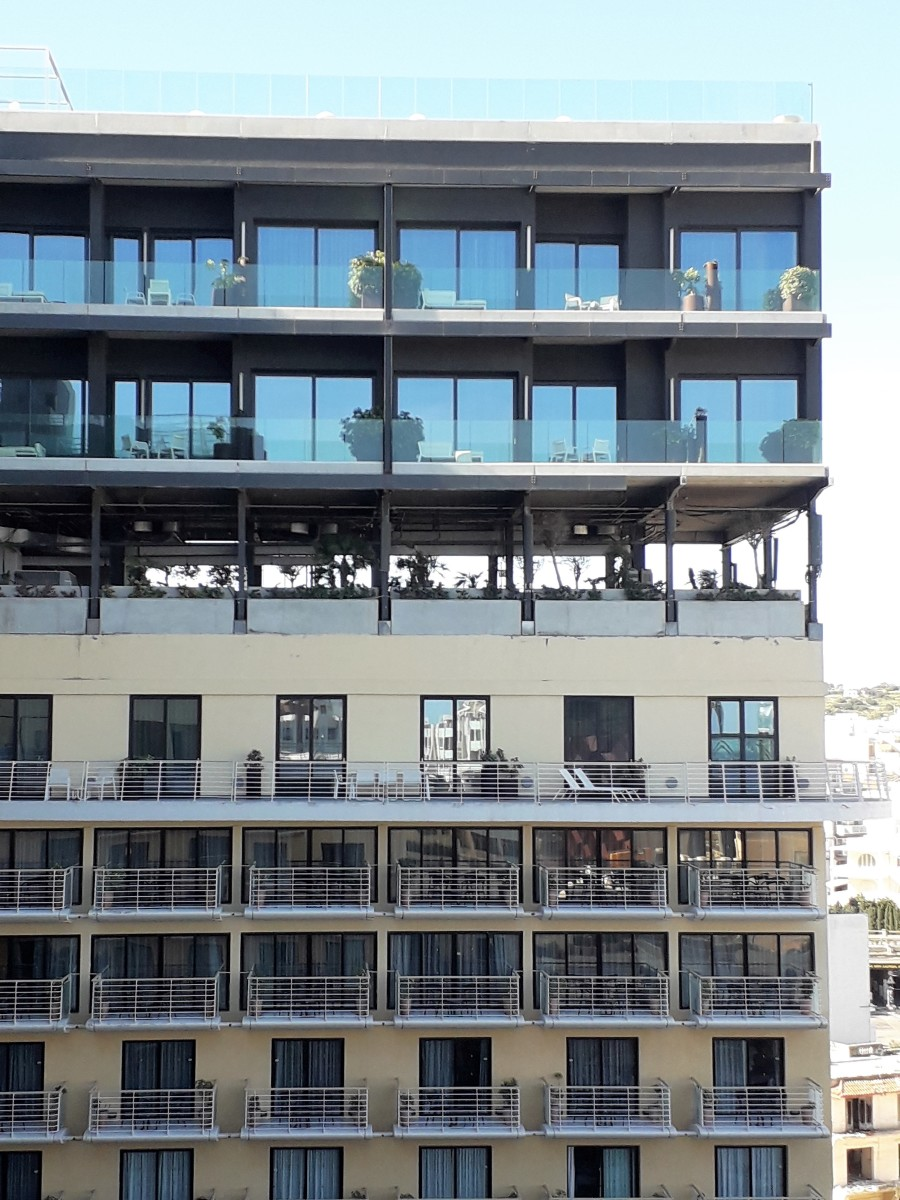 The additional Highline floors.