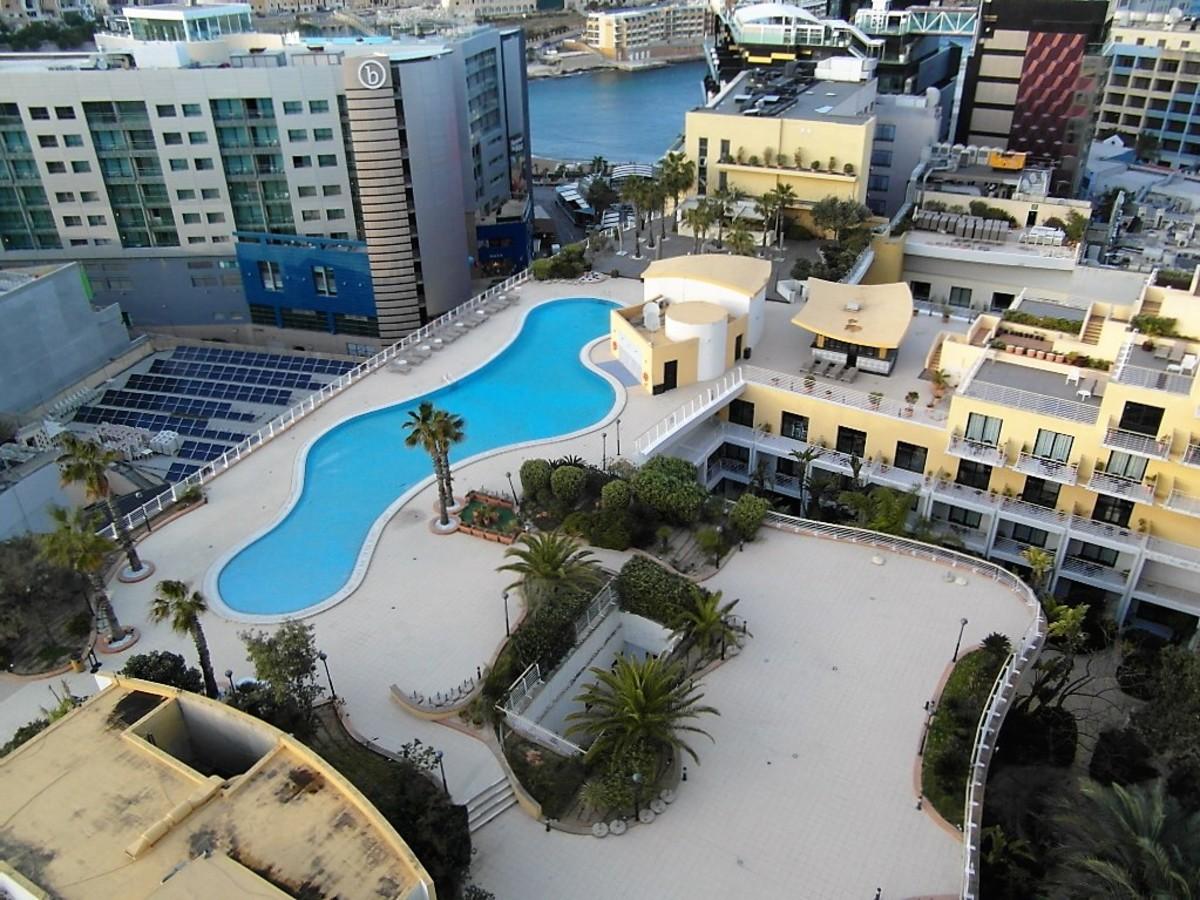 Lagoon style pool.