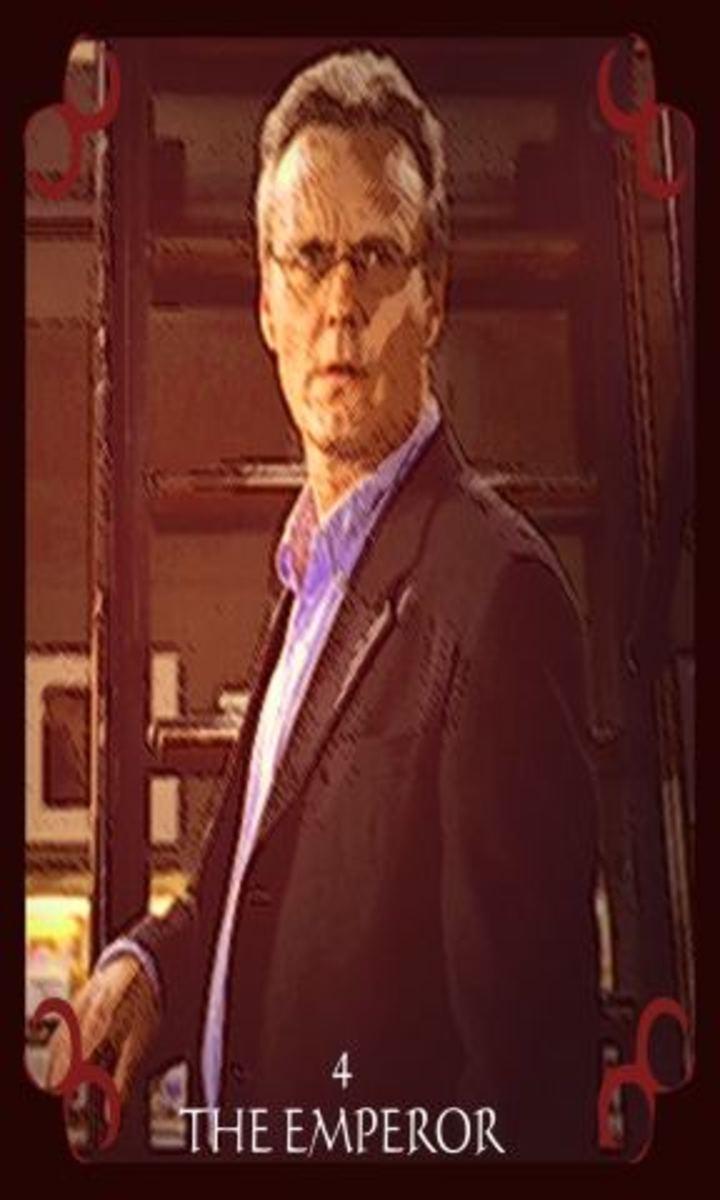 Giles as The Emperor