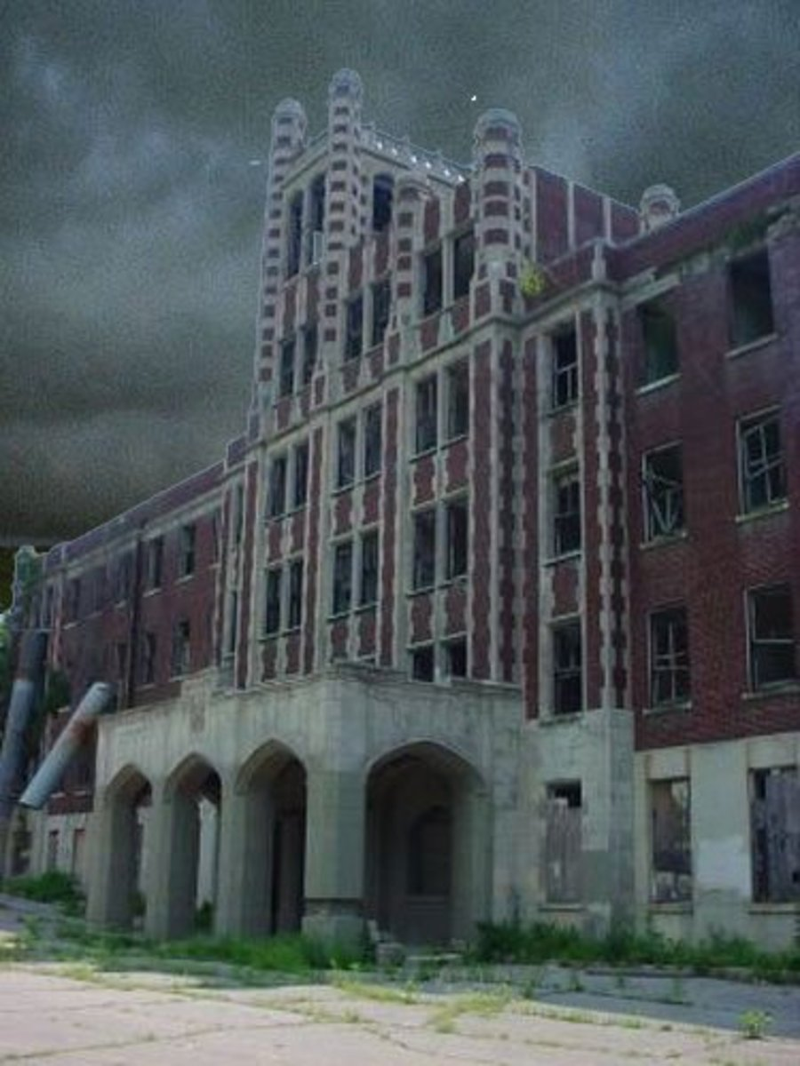 haunting' s in asylums - Temple Illuminatus