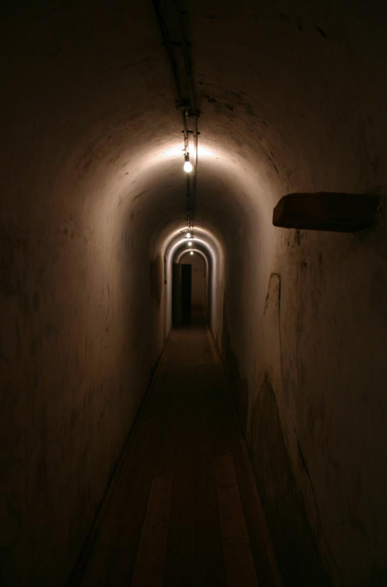 Inside Byberry Mental Hospital