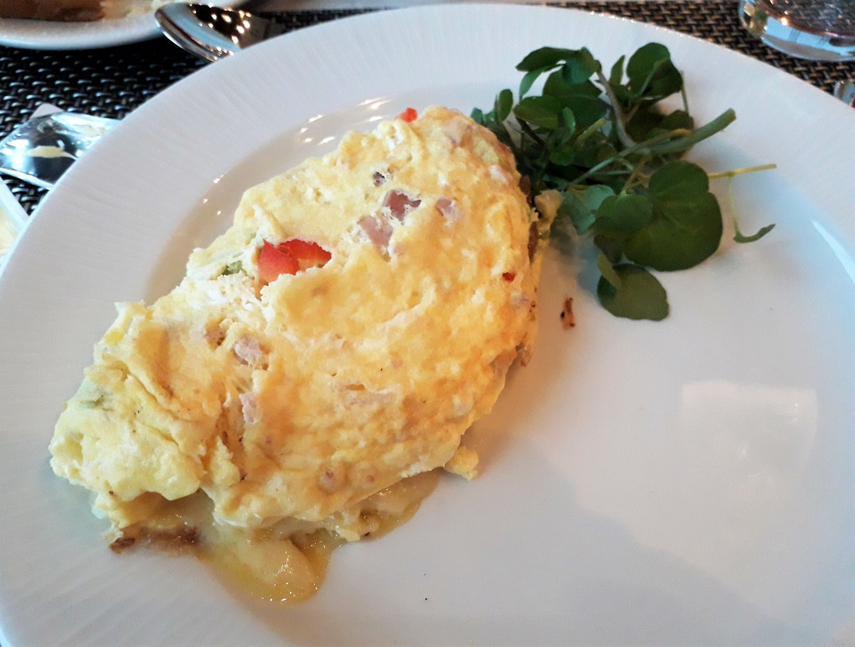 Omelettes made to order