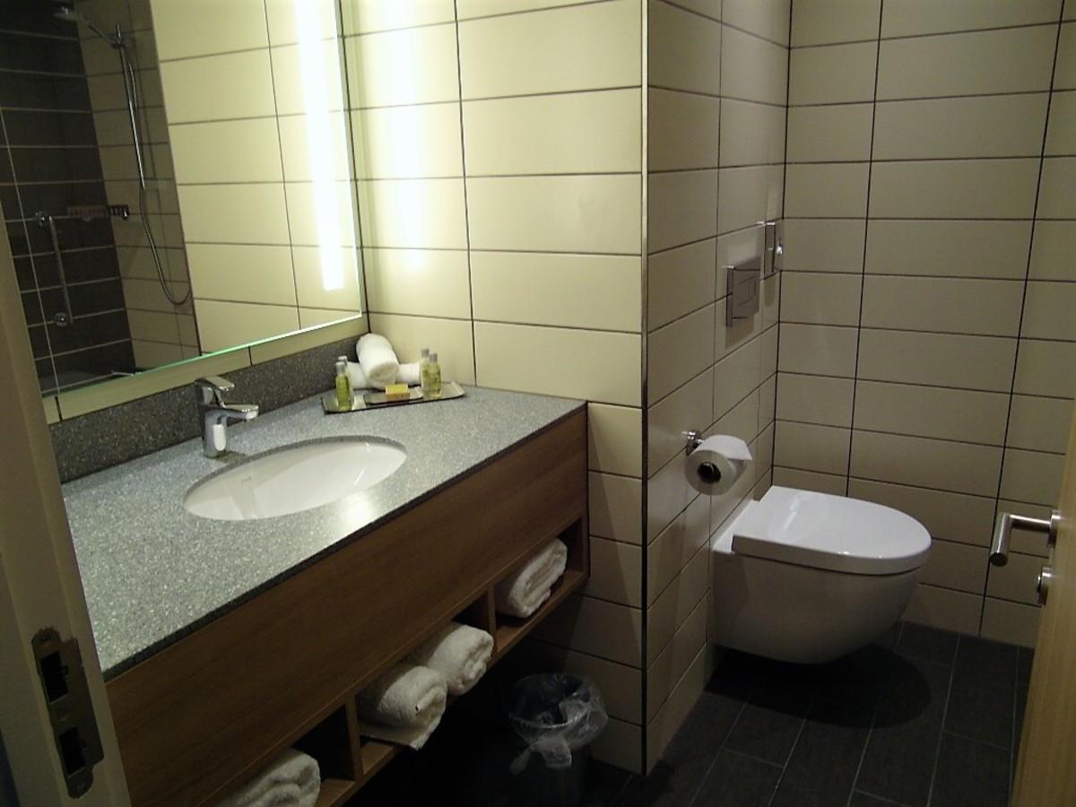 Shower-room facilities.