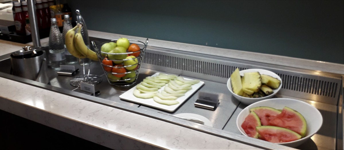 Fresf fruit.
