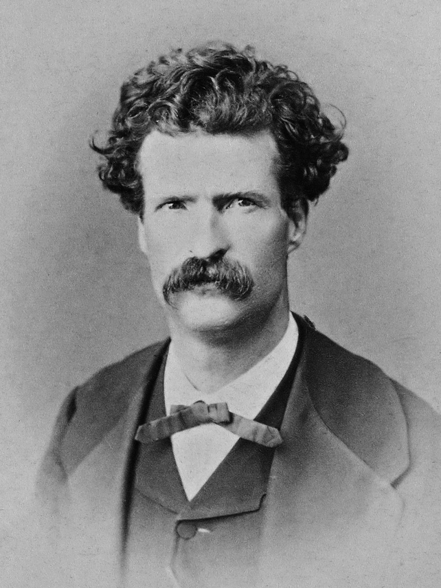 Mark Twain, Editor of the Territorial Enterprise (1867).