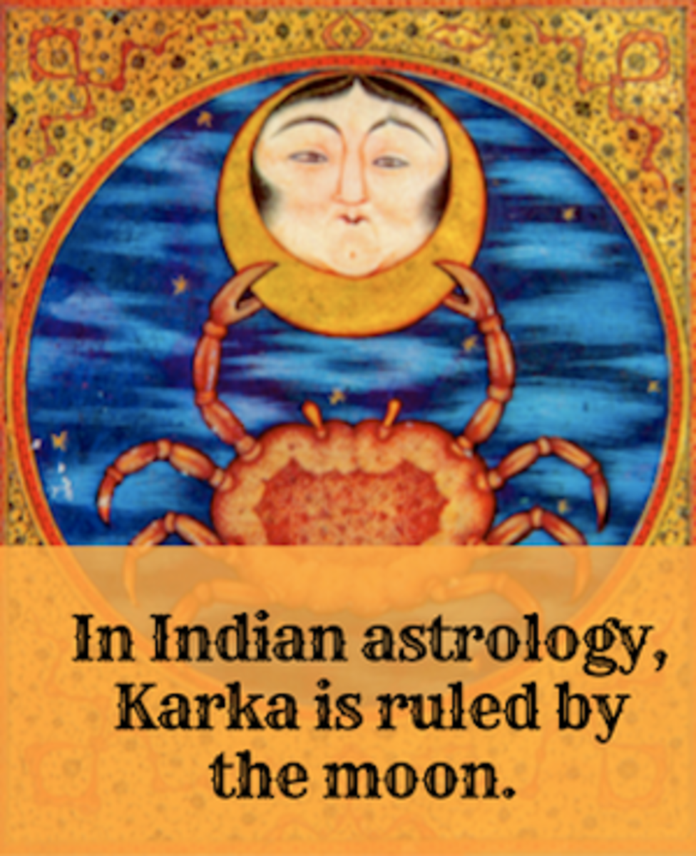 In Indian astrology, Karka is the name for Cancer. It's ruling body is the Moon.