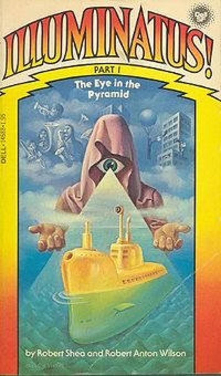 Oh yes, the mysterious Illuminati! If you ask me, it is all a buch of Bull Snot!