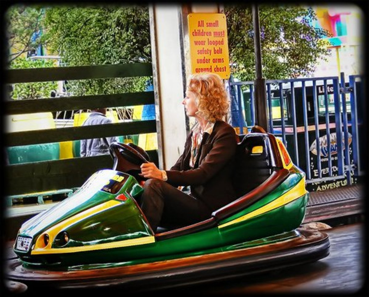 Bumper cars can have both positive and negative meanings in dreams.