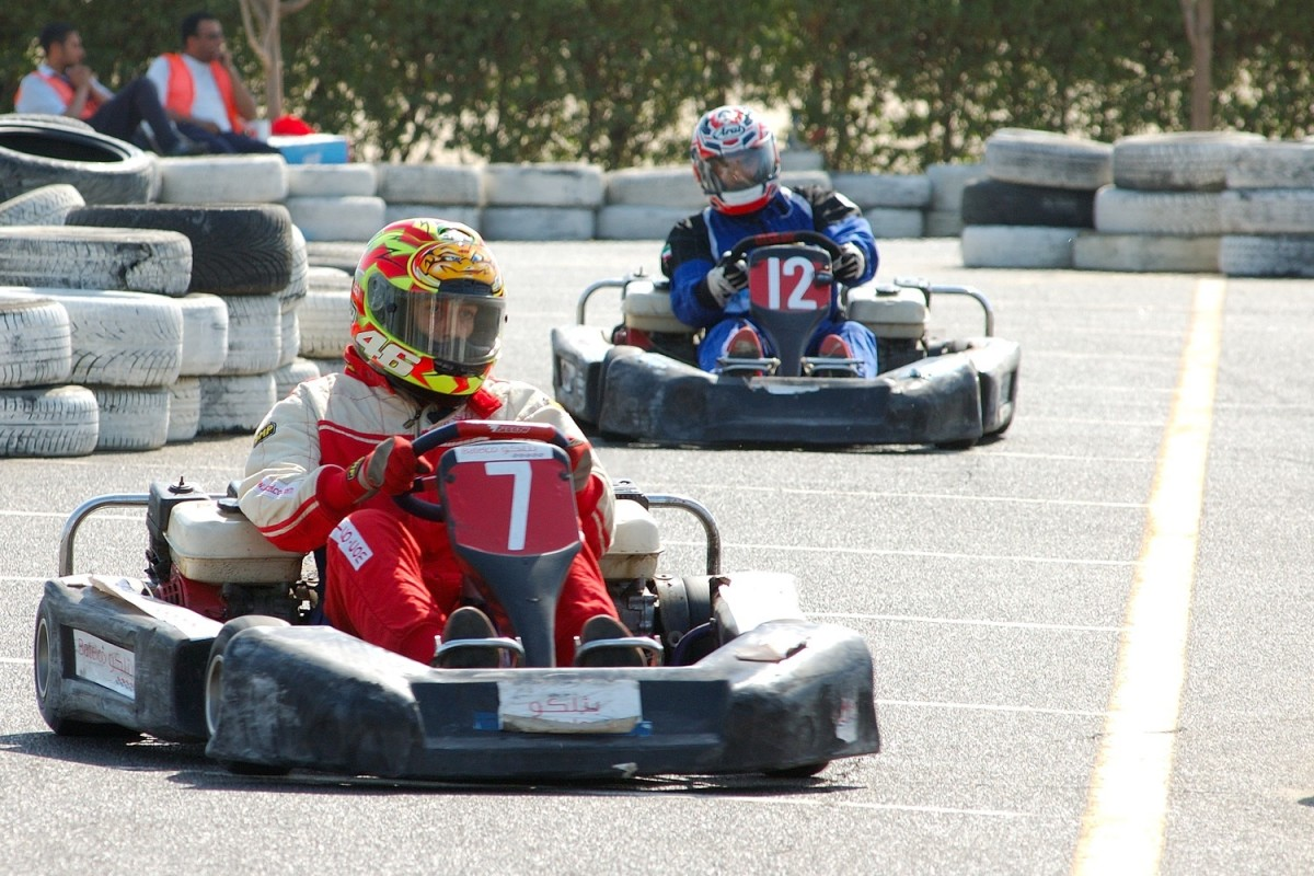 Go-karts are generally positive symbols in dreams.