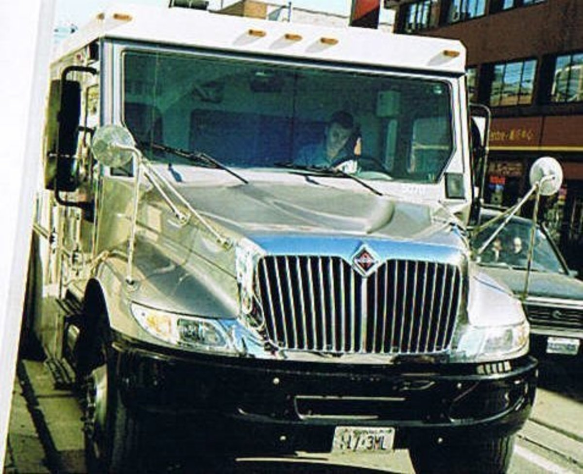 An armored car in your dream may represent worries over security.