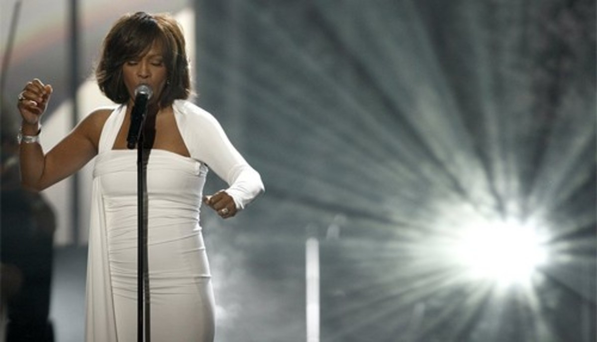 Celebrity sacrifice, Whitney Houston