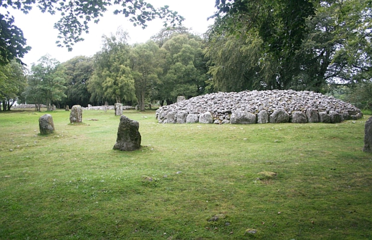 The Three Clava Cairns, Highland Region