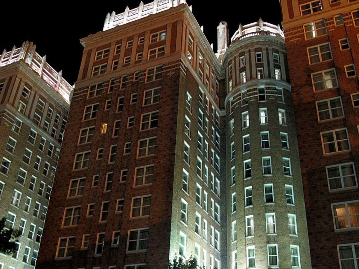 The Skirvin Hotel.