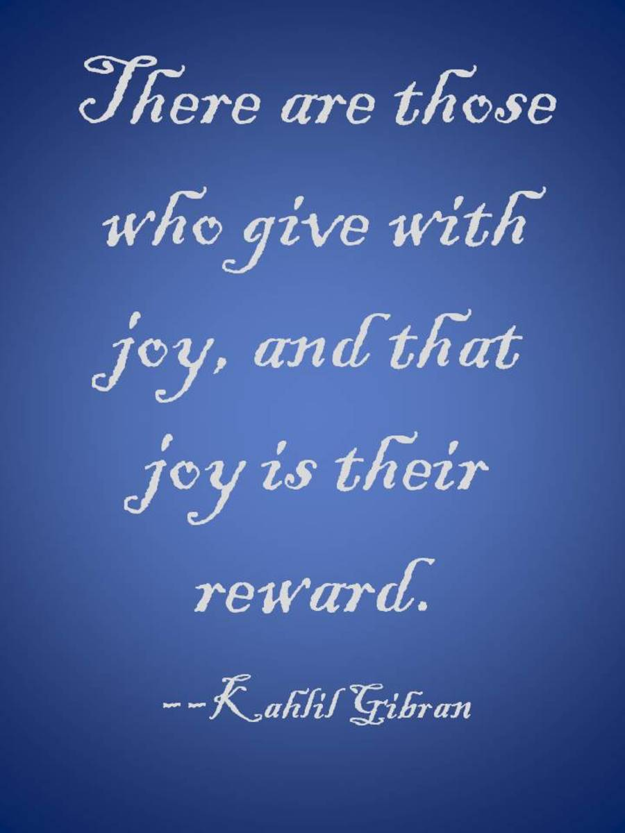 Being generous and giving to others is one of the best ways to improve your luck in life!