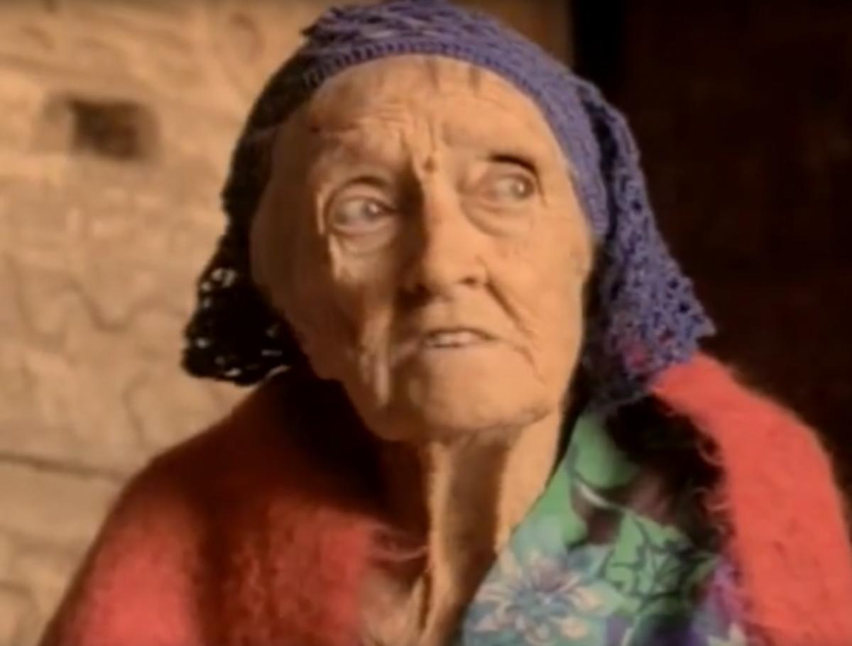 Dorothy Eady old age
