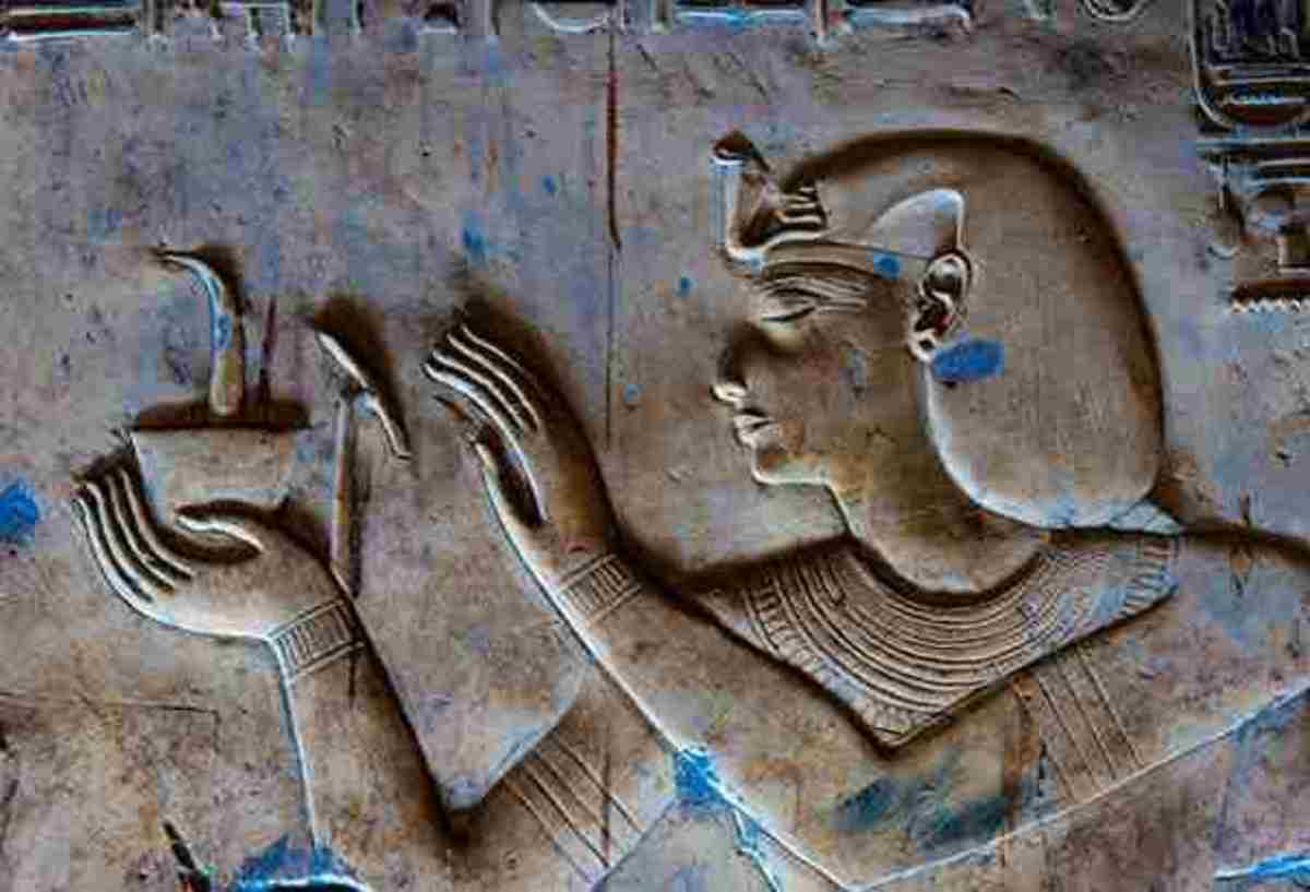 www.history.com  Temple of Seti I paintings