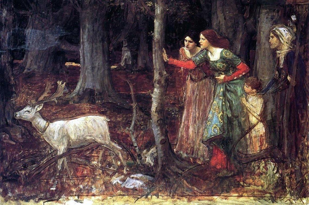 The Mystic Wood (Date Unknown) by J. W. Waterhouse