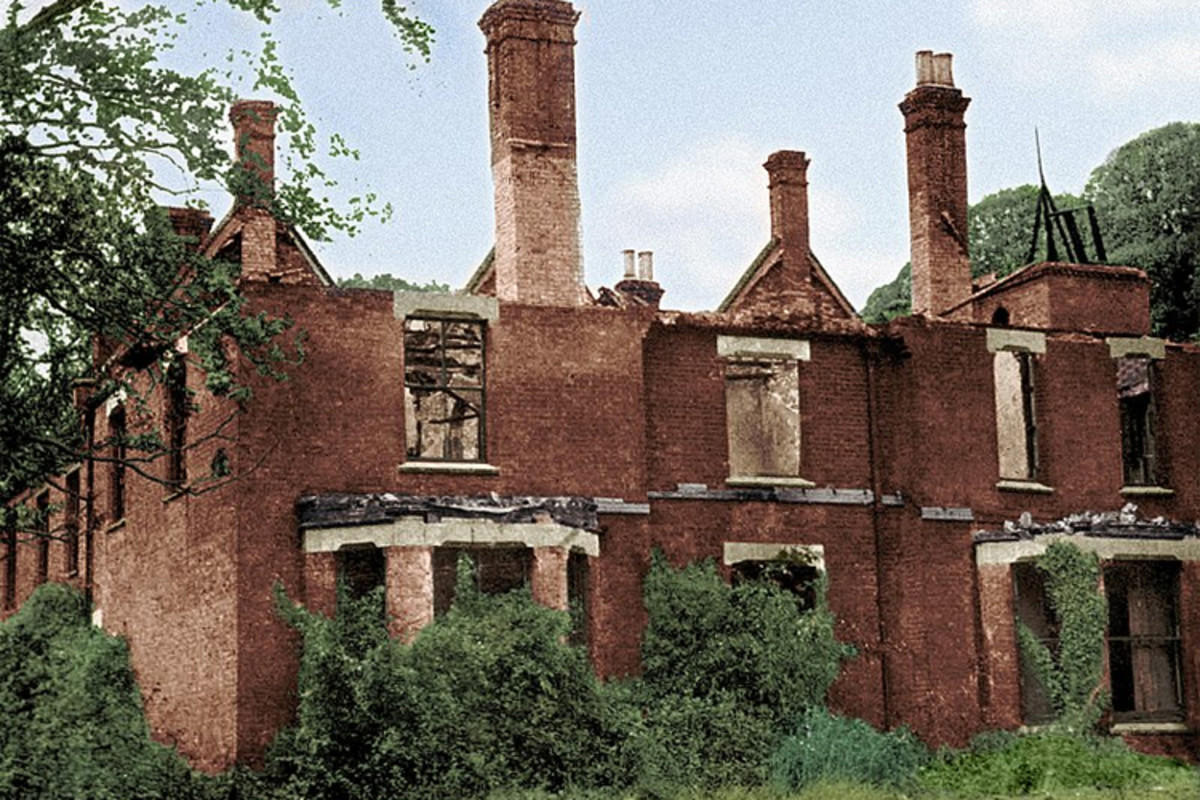 Regarded as England's most haunted location, the Borley rectory is believed to have been built near the site of a tragic love affair between a monk and a nun.