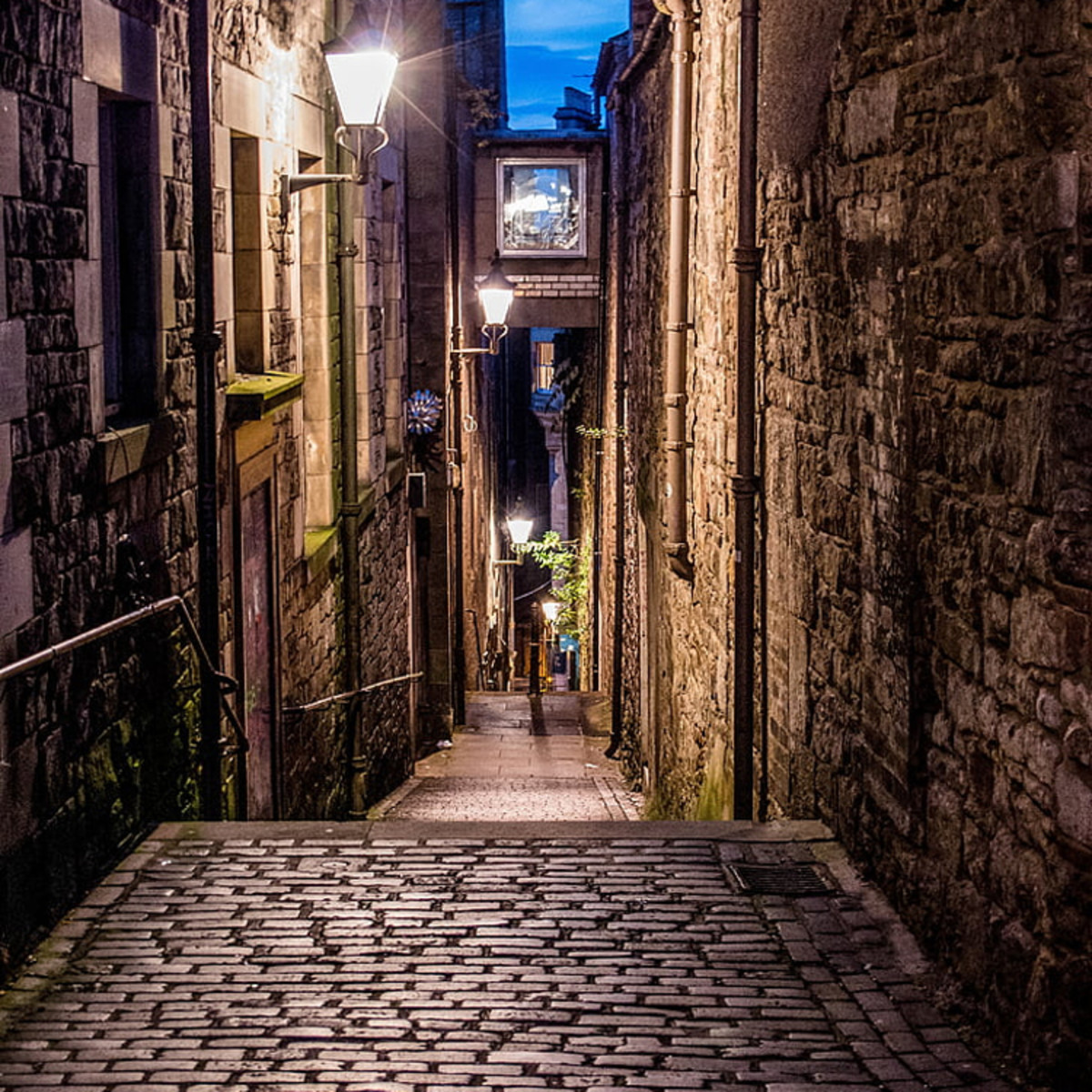 Regarded as one of the world's most haunted cities, Edinburgh's old town section has plenty of stories to tell.