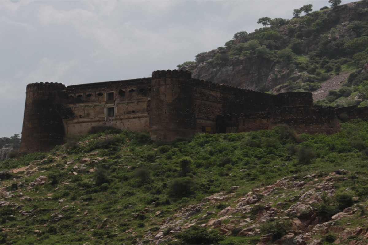 An old ruined fort, said to be haunted by an evil presence.