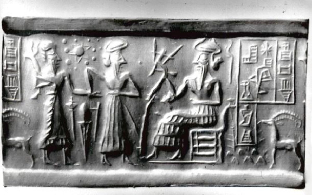 This 6,000 year old Sumerian seal accurately depicts all of the planets in our solar system. Modern science only discovered our complete solar system about 100 years ago.